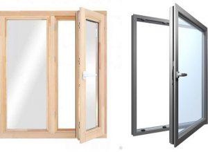 Ремонт деревянных и алюминиевых окон